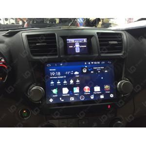 """Автомагнитола IQ NAVI T58-2915PFS Toyota Highlander II (XU40) (2007-2014) 10,1"""""""