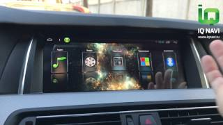 Обзор магнитолы IQ NAVI T44-1004C BMW 5 (F07 / F10 / F11) (Android)
