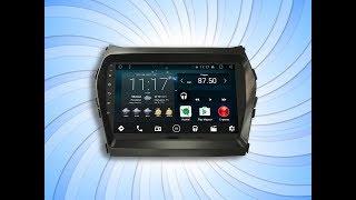 Магнитола IQ NAVI на Андроиде Hyundai Santa Fe