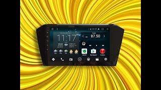 Магнитола IQ NAVI на Андроиде Фольксваген Пассат Б8