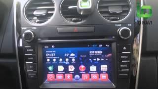 Штатное головное устройство IQ NAVI D4-1905 Mazda CX-7 (Android 4.2.2)