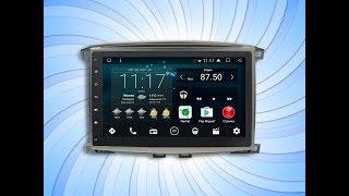 Установка магнитолы IQ NAVI на Андроиде в Тойоту Ленд Крузер 100