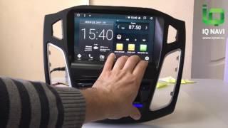 Обзор магнитолы на Андроиде IQ NAVI D44-1910 Ford Focus III (2011+)