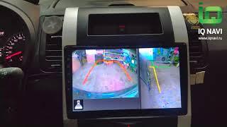 Поддержка кругового обзора в магнитолах IQ NAVI в Nissan X-Trail T31