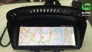 Магнитола IQ NAVI на Андроиде для BMW 5 (E60 / E70)