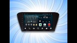 Магнитола IQ NAVI на Андроиде Шкода Фабиа 3