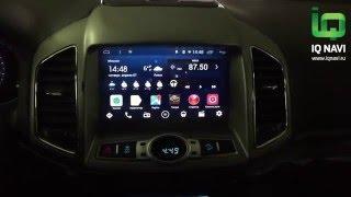 Обзор ПОСЛЕ УСТАНОВКИ автомагнитолы IQ NAVI D44-1203 Chevrolet Captiva (2011+) (Android 4.4.x)