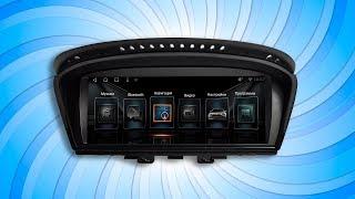 Установка магнитолы IQ NAVI на Андроиде для BMW 5 (E60)